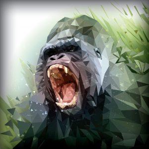 gorilla-roar