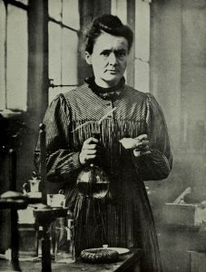 marie-curie-working