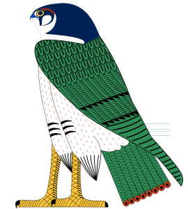 horus-as-falcon