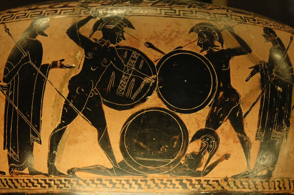 ancient-greek-hoplites-fighting
