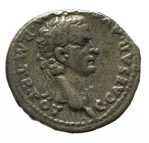 Denarius of Caligula