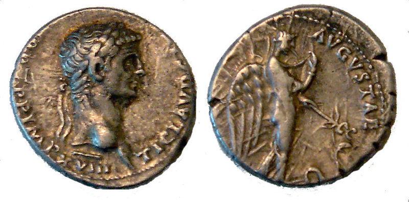 Denarius of Claudius
