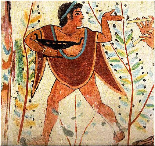 Etruscan Dancer