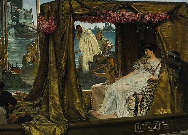 Mark Anthony and Cleopatra