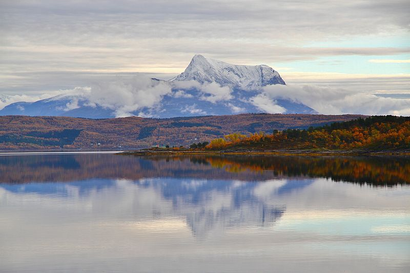 Late September in the fjords near Narvik